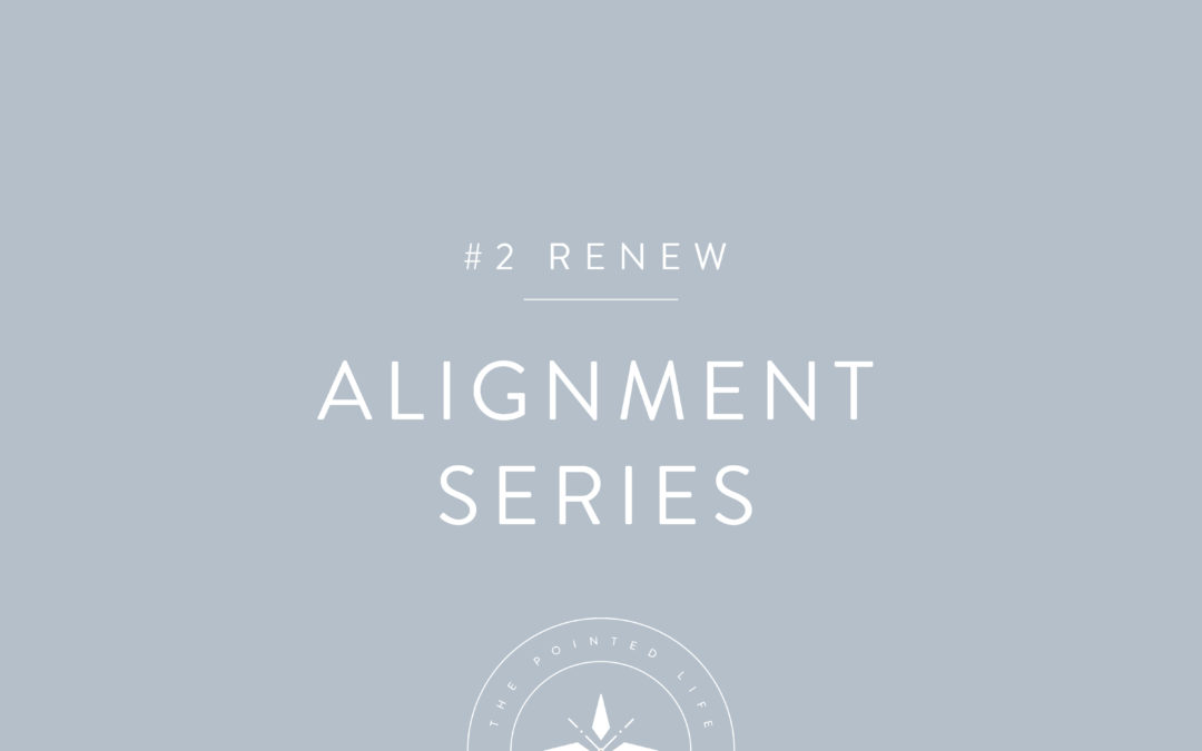 Alignment Series Part 2: How Do You Renew Your Mind?