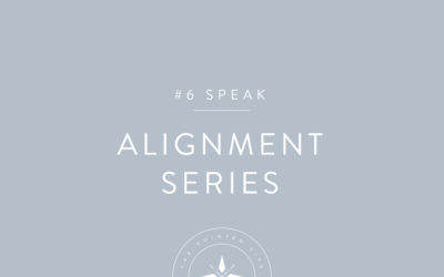 Alignment Series Part 6: Speak Life Over Your Dreams