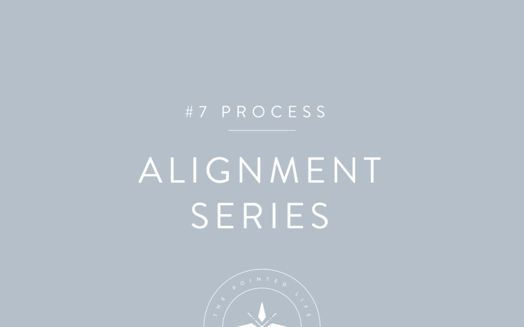 Alignment Series Part 7: God is Committed to the Process